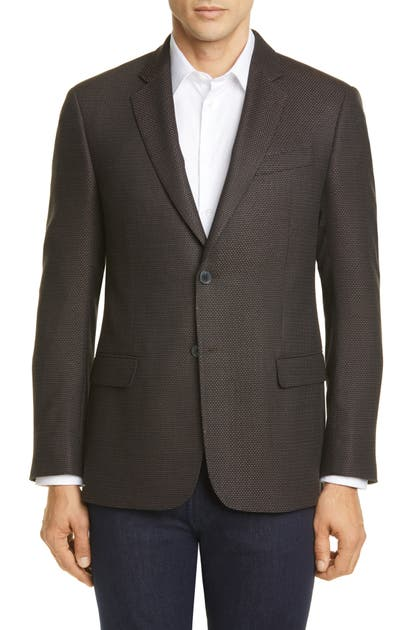 EMPORIO ARMANI TRIM FIT STRETCH SPORT COAT