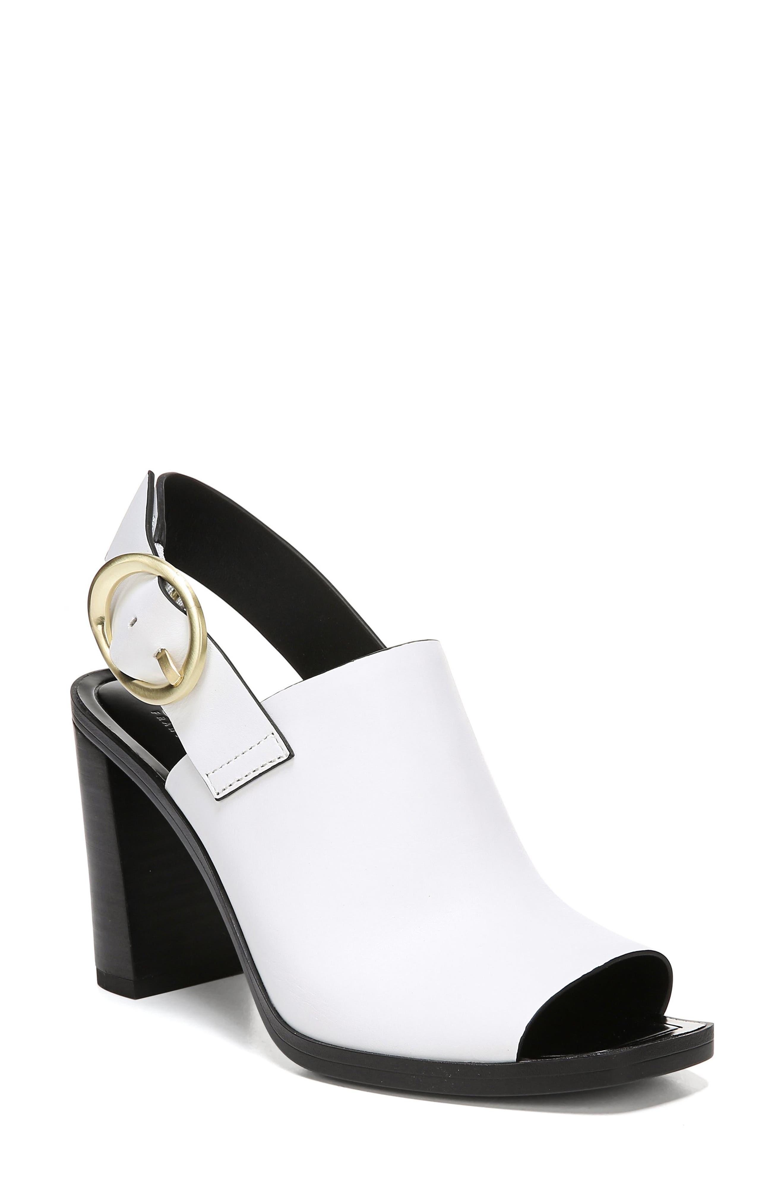 Sarto By Franco Sarto Walter Slingback Sandal, White