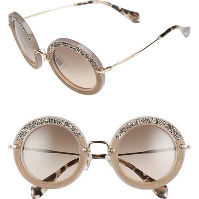 Miu Miu 4m Round Sunglasses -