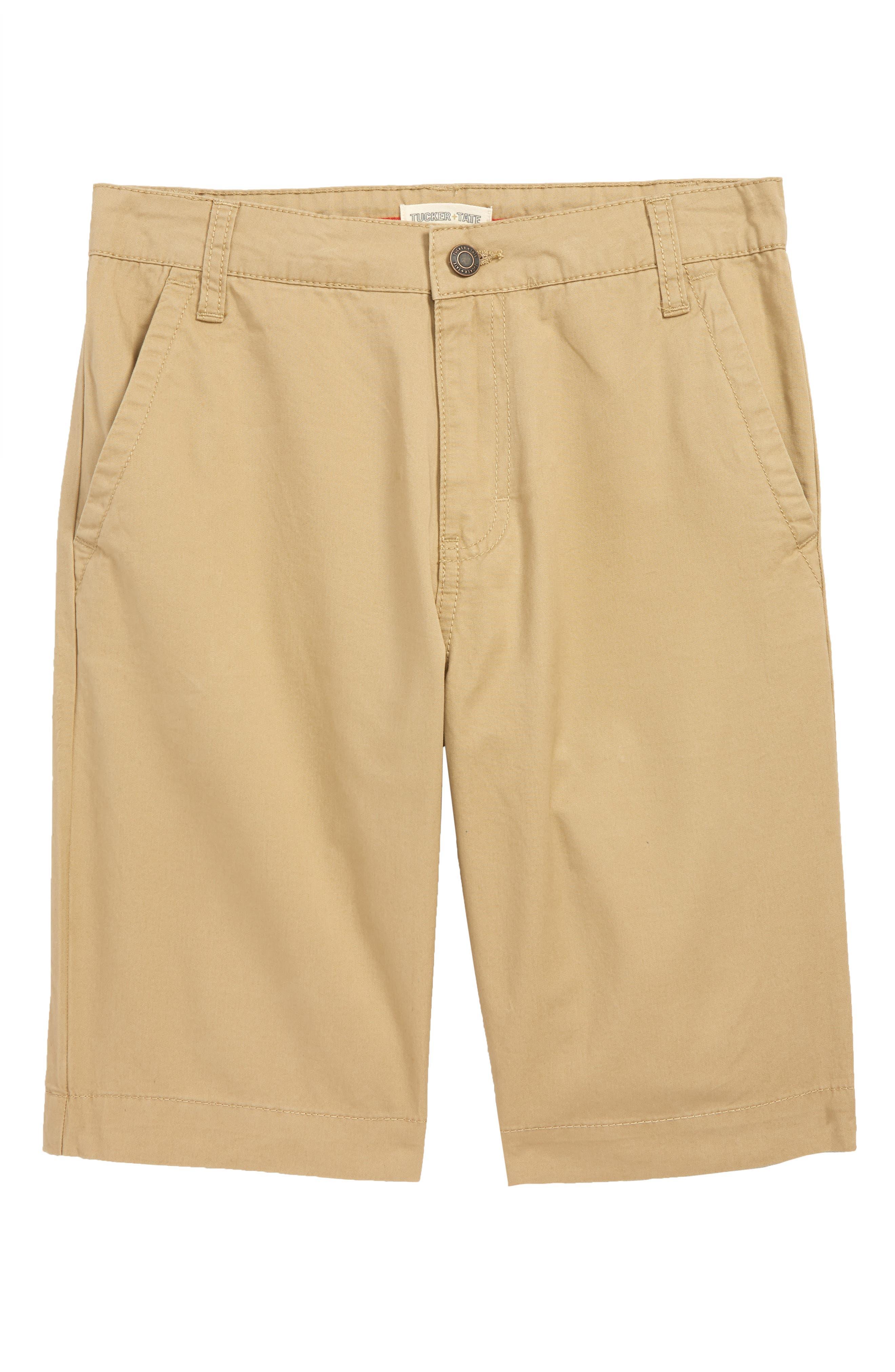 Chino Shorts, Main, color, TAN STOCK