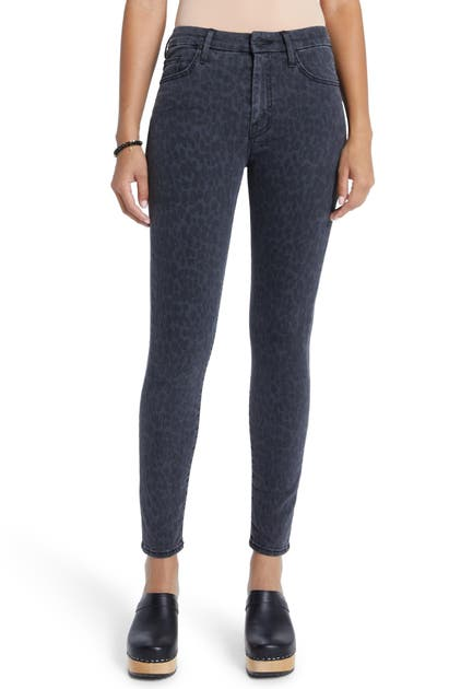 Mother Women's The Looker High-rise Skinny Jeans In Bad Cat