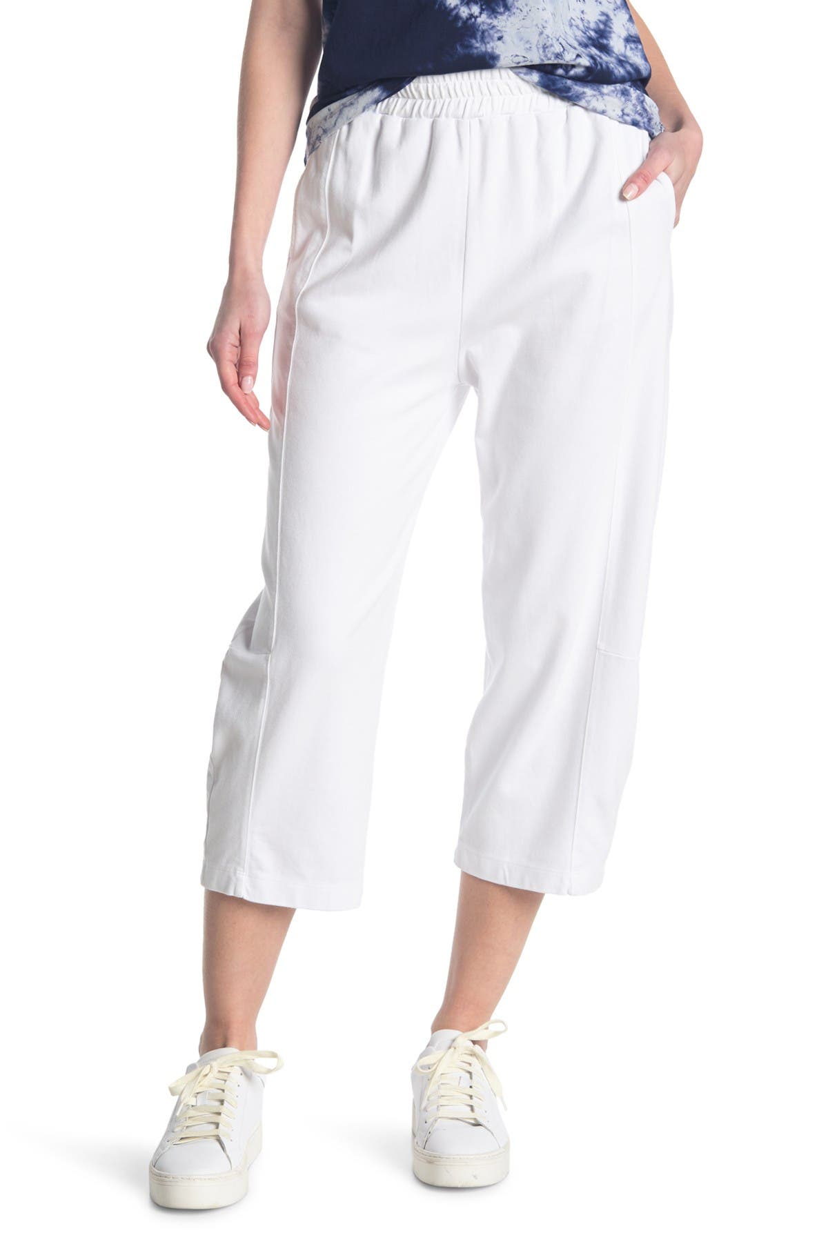 Image of Stateside Ponte Structured Sweatpants