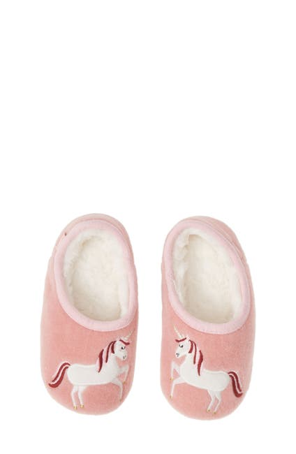 Image of Joules Faux Fur Lined Slipper