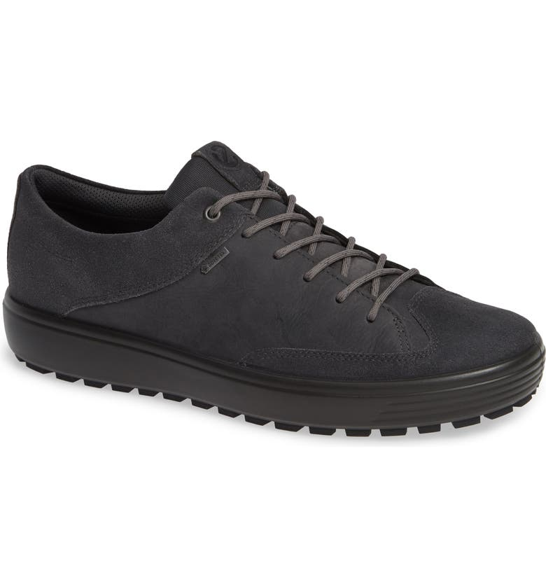 ECCO Soft 7 TRED Lace-Up Sneaker, Main, color, MAGNET