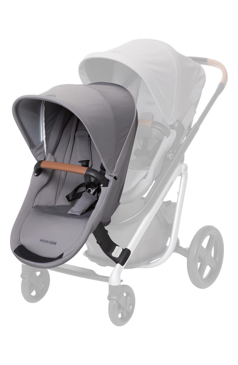 MAXI-COSI<SUP>®</SUP> Lila Duo Sibling Seat Kit, Main, color, NOMAD GREY