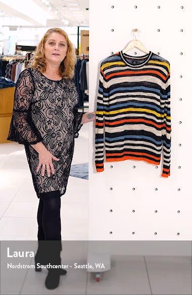 Bowrain Stripe Sweater, sales video thumbnail