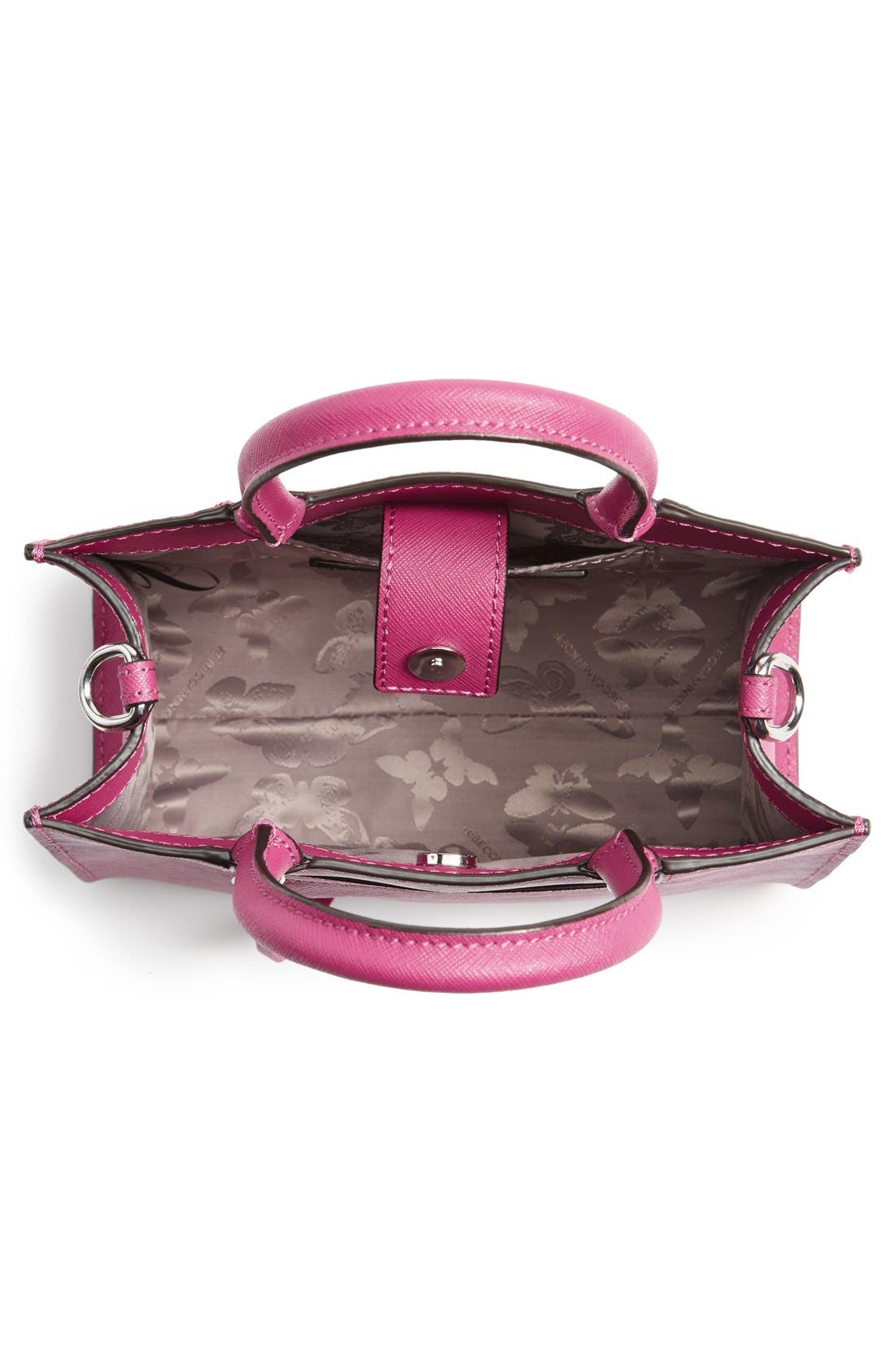 ,                             'Mini MAB Tote' Crossbody Bag,                             Alternate thumbnail 118, color,                             655