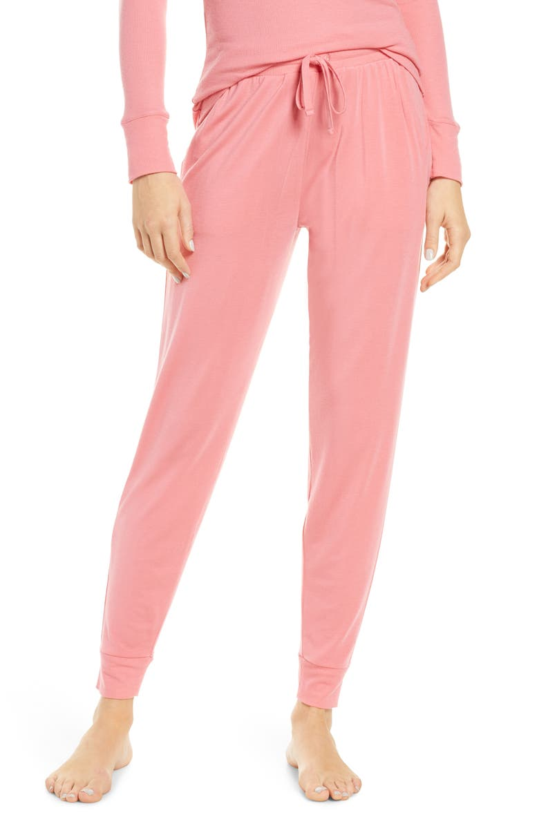 TOMMY JOHN Jogger Pants, Main, color, DESERT ROSE