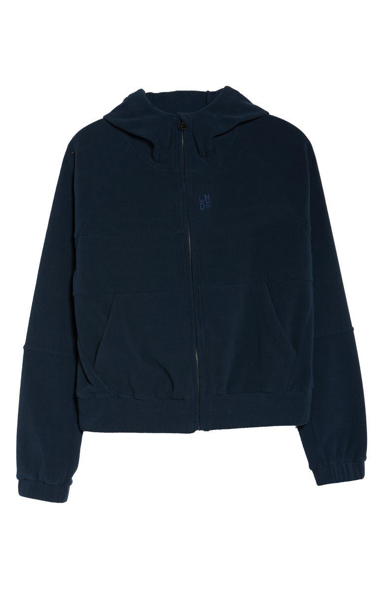 LNDR Ember Fleece Hooded Sweatshirt, Main, color, 080