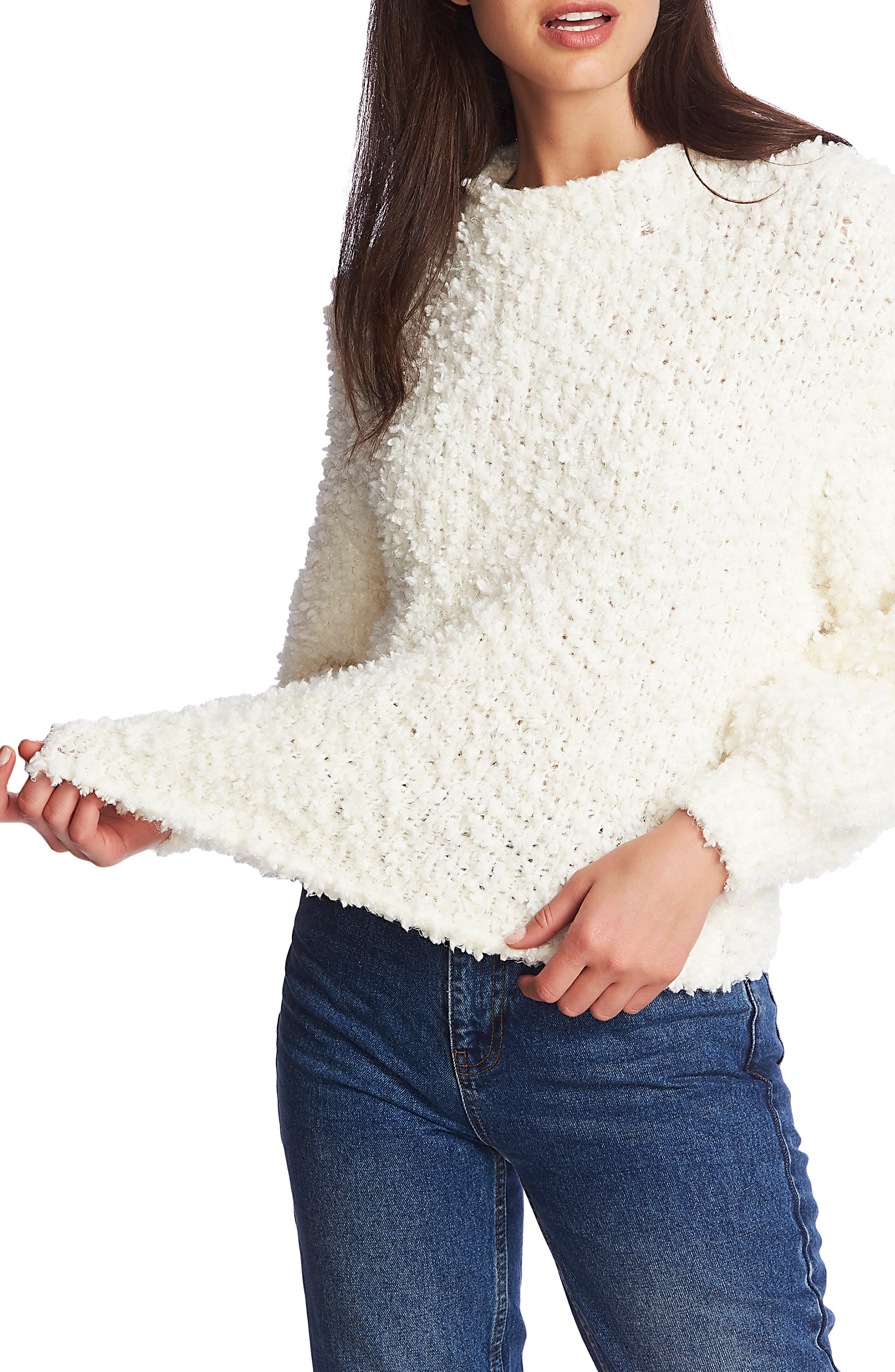 1.STATE Poodle Texture Pullover