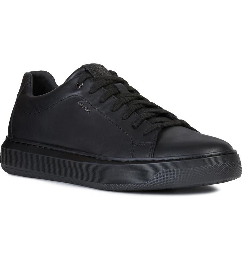 GEOX Deiven 16 Sneaker, Main, color, BLACK
