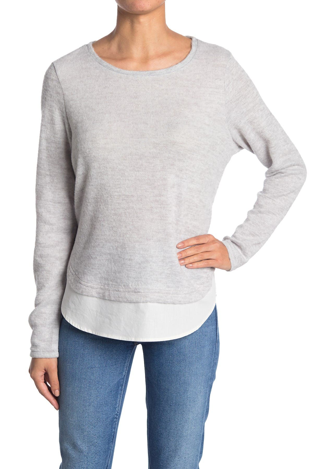 Image of VERO MODA Long Sleeve Hi-Lo Layered top
