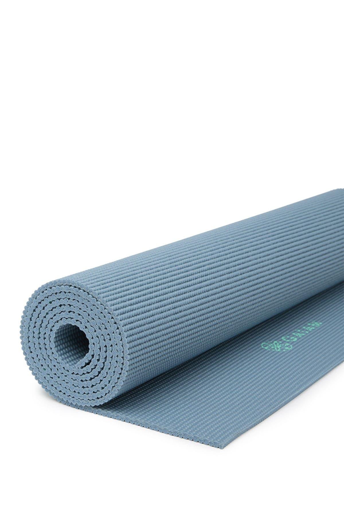 Image of Gaiam Printed Blue Yoga Mat