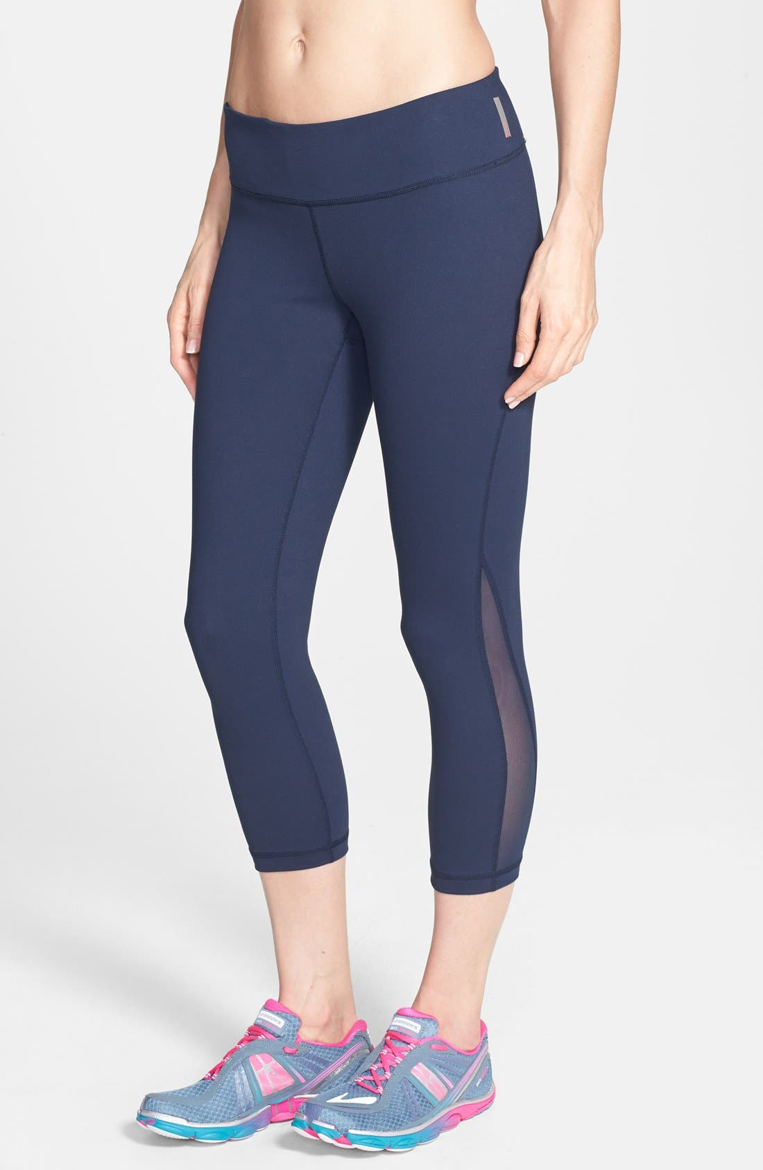 ,                             Live In Streamline Reversible Capris,                             Main thumbnail 45, color,                             410