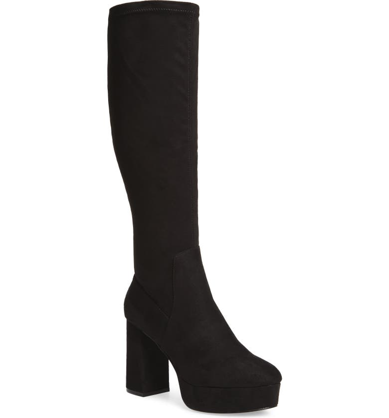 CHINESE LAUNDRY Nancy Knee High Platform Boot, Main, color, 001