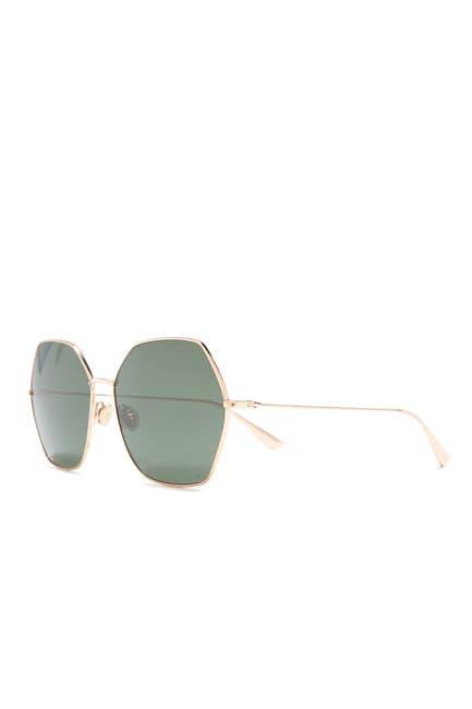 Image of CHRISTIAN DIOR 62mm Geo Sunglasses