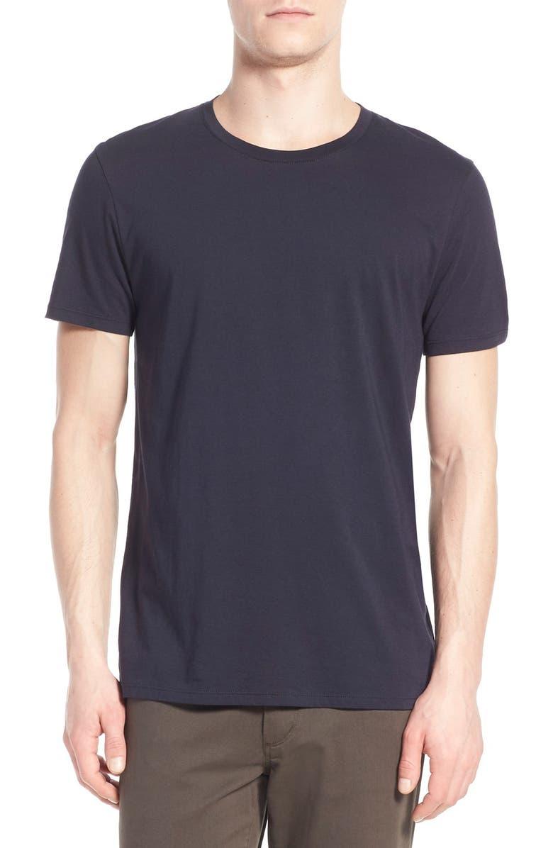 VINCE Slim Fit Crewneck T-Shirt, Main, color, COASTAL BLUE