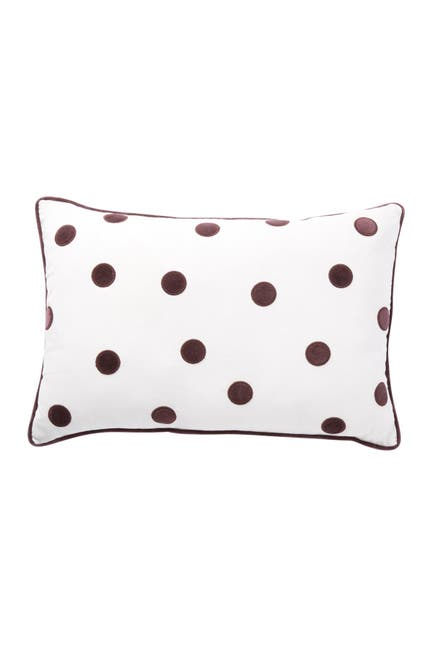 "Image of Nordstrom Rack Velvet Dot Pillow - 14"" x 20"""