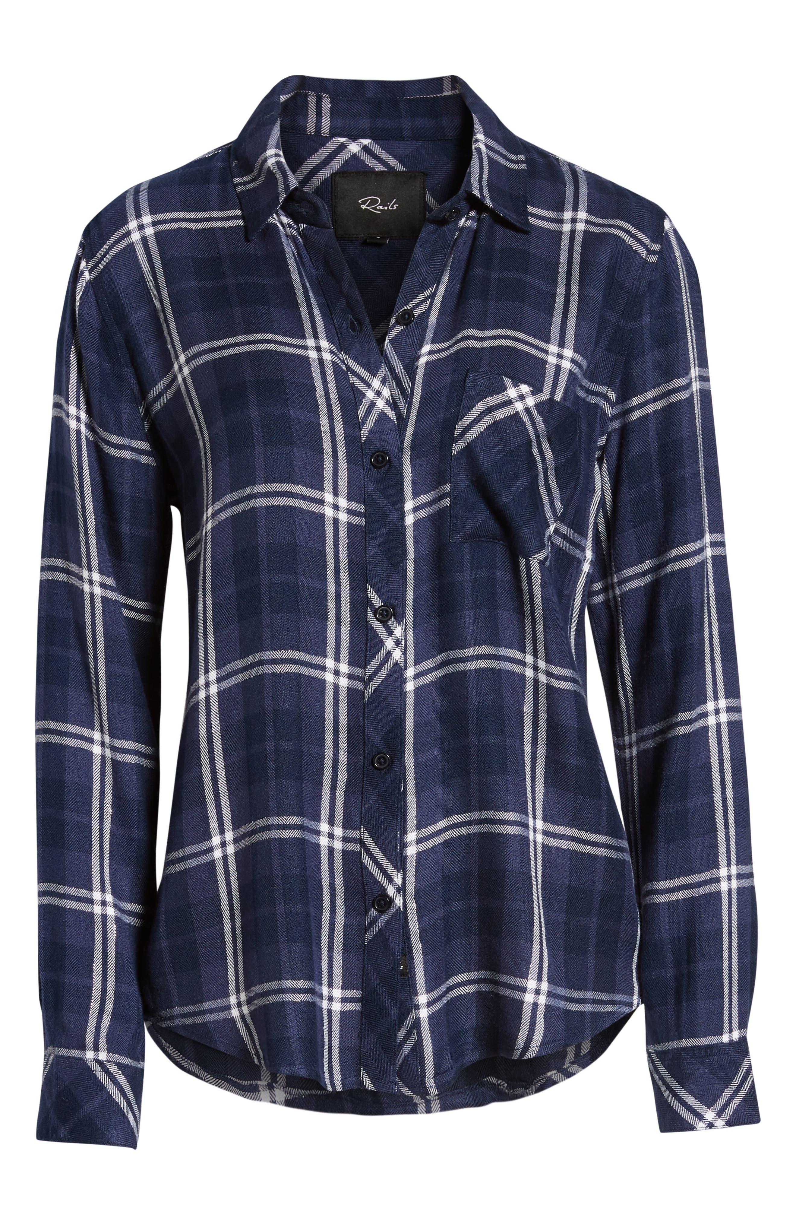 ,                             Hunter Plaid Shirt,                             Alternate thumbnail 375, color,                             420