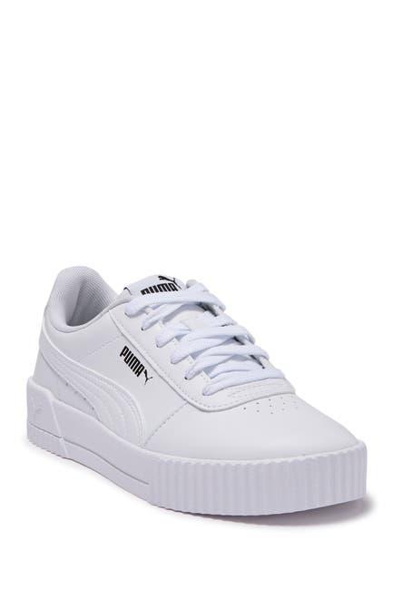 Image of PUMA Carina Leather Platform Sneaker