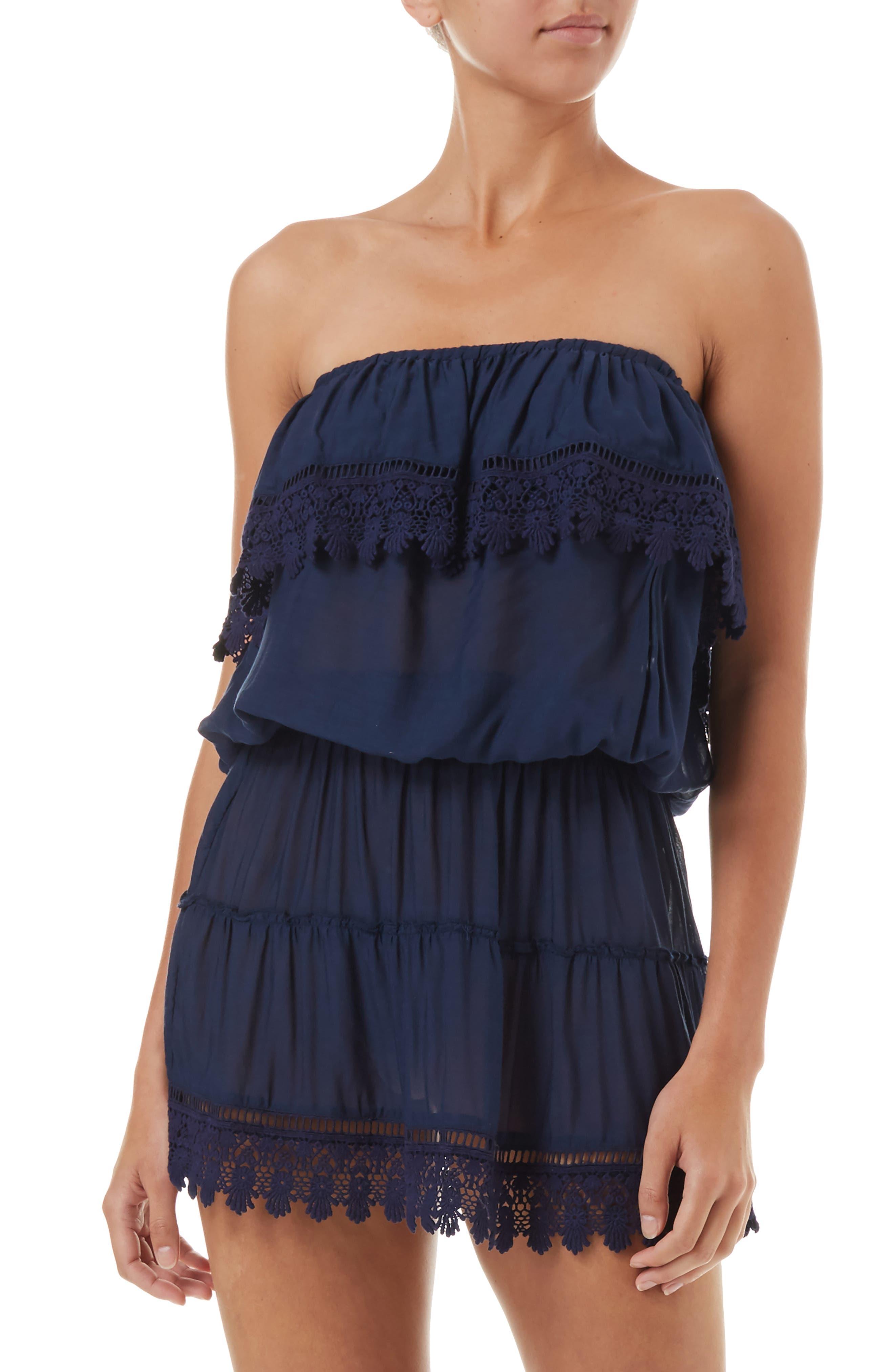 Melissa Odabash Joy Cover-Up Dress, Blue