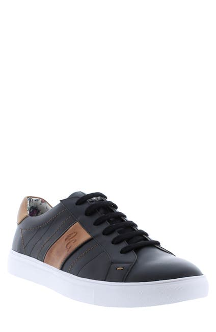 Image of Robert Graham Attwood Leather Fashion Sneaker