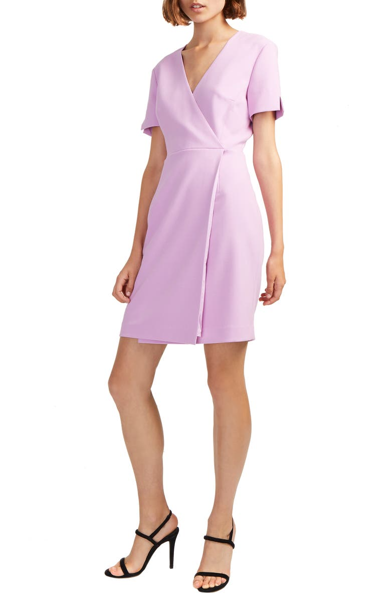 FRENCH CONNECTION Whisper Faux Wrap Dress, Main, color, KYOTO BLOSSOM