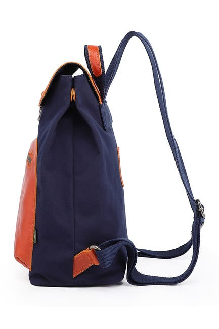 Image of TSD Valley Trail Coated Canvas Backpack