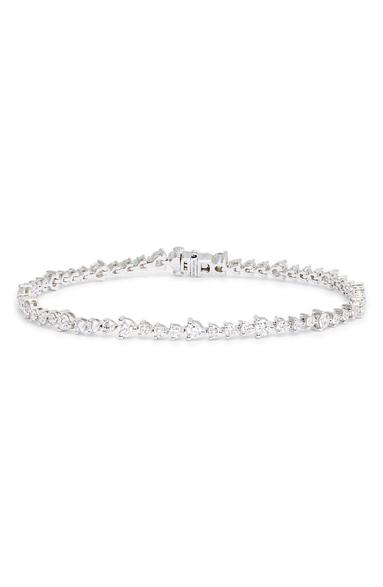 BONY LEVY Audrey Diamond Tennis Bracelet, Main, color, 040