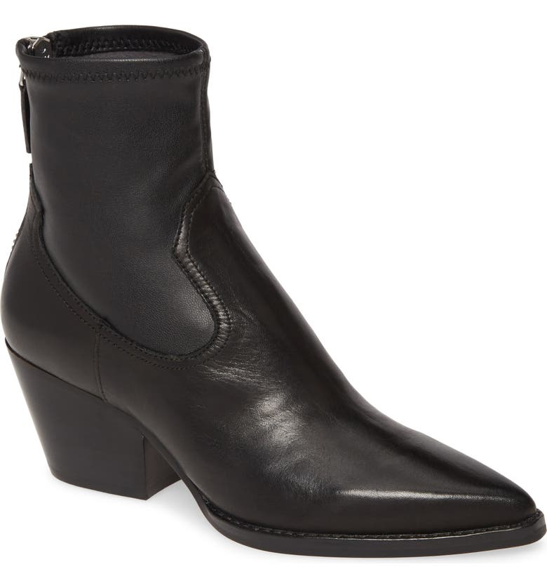 DOLCE VITA Shanta Bootie, Main, color, BLACK LEATHER