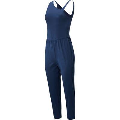 New Balance Asymmetrical Jumpsuit, Blue