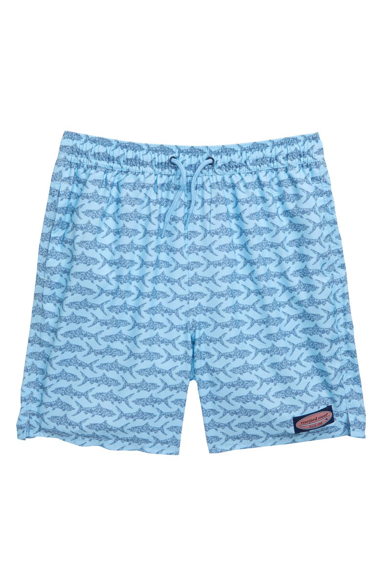 VINEYARD VINES Bonefish Sketch Chappy Swim Trunks, Main, color, 456