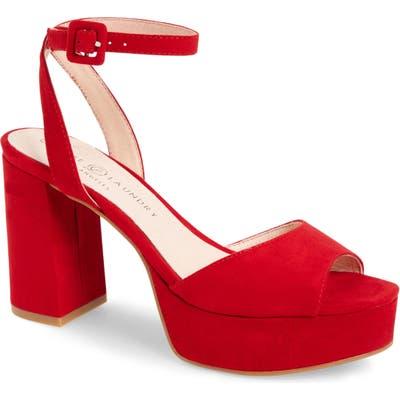 Chinese Laundry Theresa Platform Sandal- Red