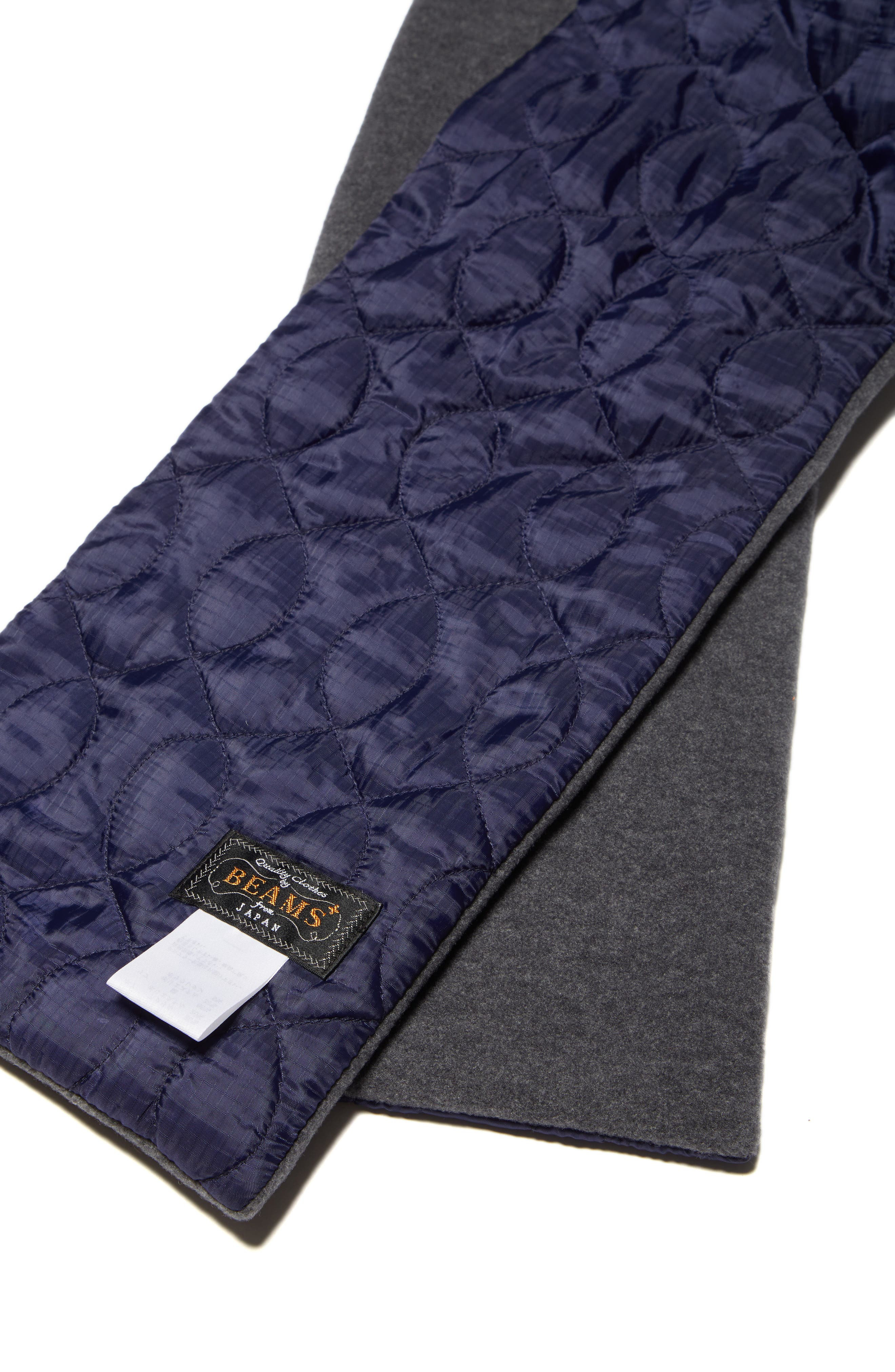 Quilted Fleece Scarf