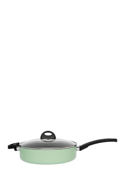 """Image of BergHOFF Green Eclipse 10.25"""" Non-Stick Covered Saute Pan"""