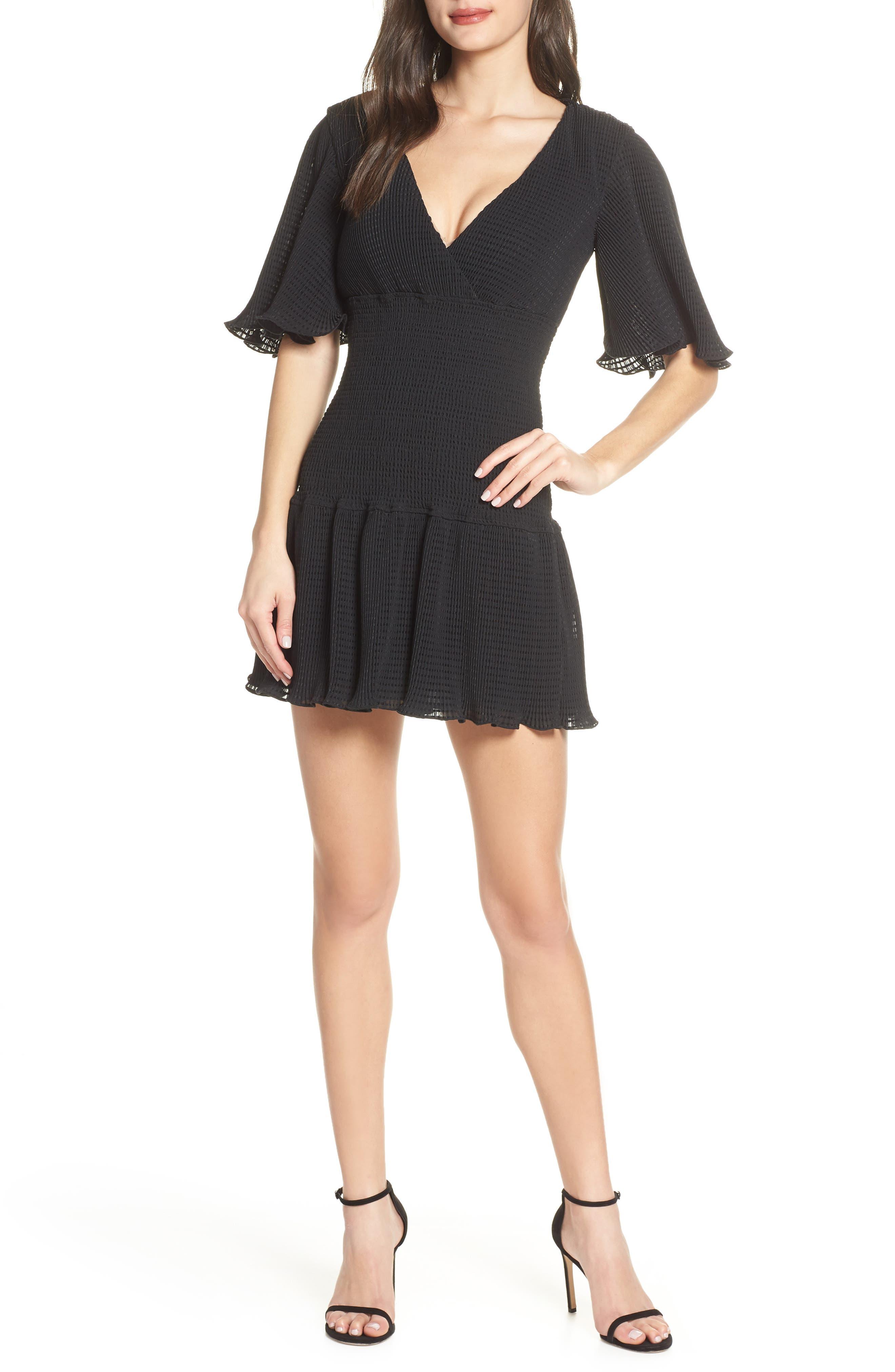 Keepsake The Label Clairty Minidress, Black