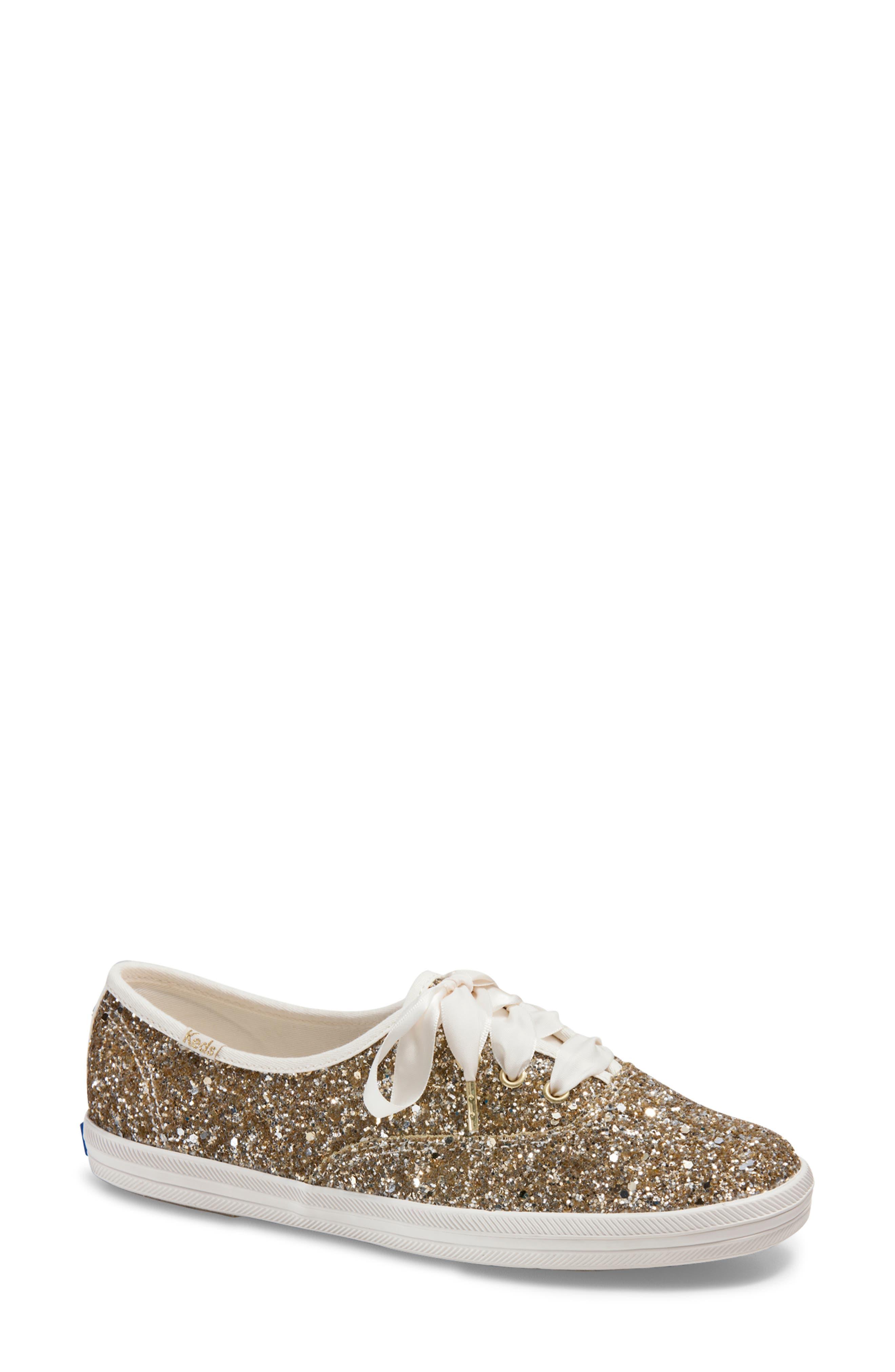 Women's Keds For Kate Spade New York Champion Glitter Sneaker