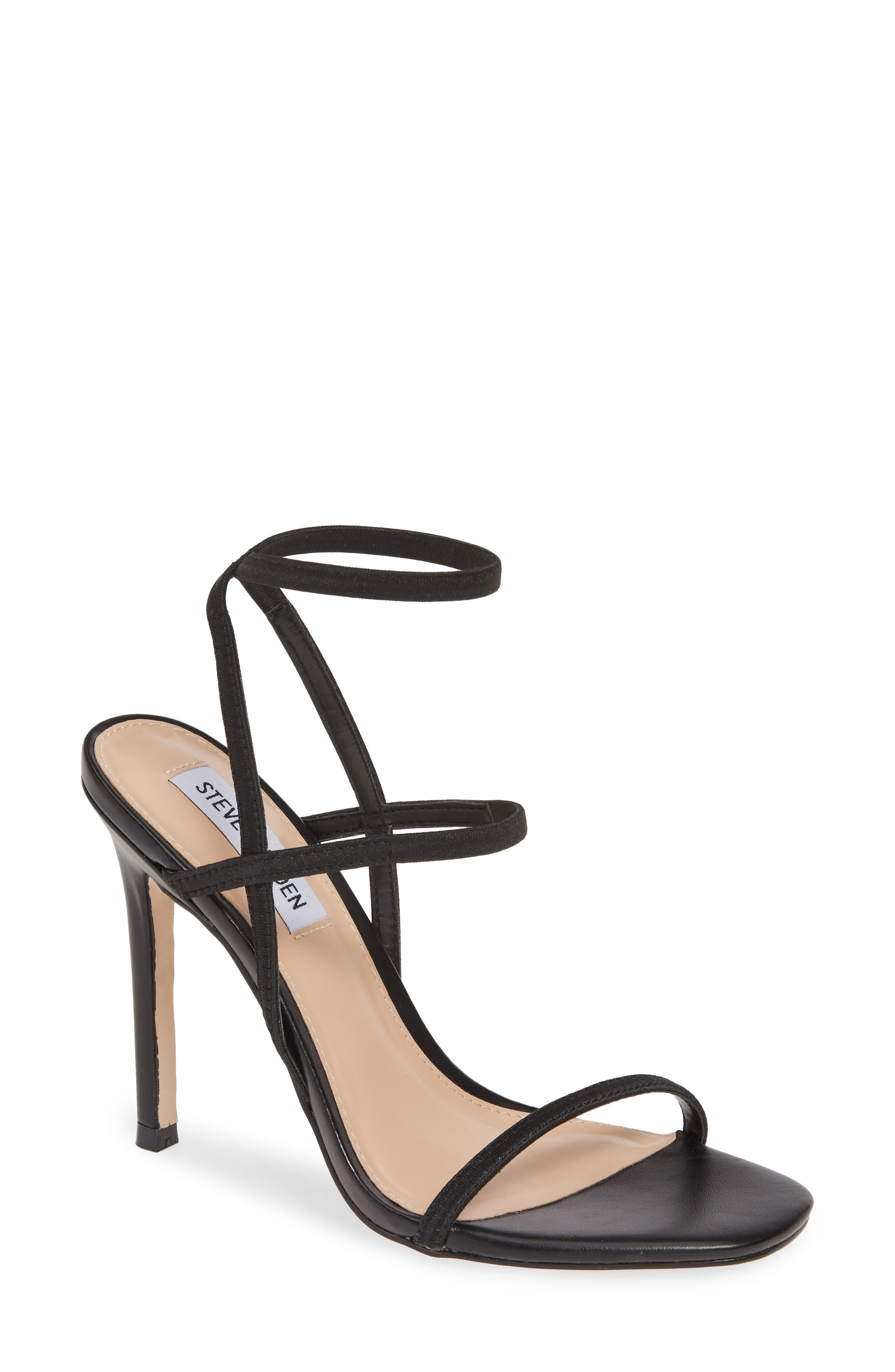 Nectur Sandal, Main, color, BLACK
