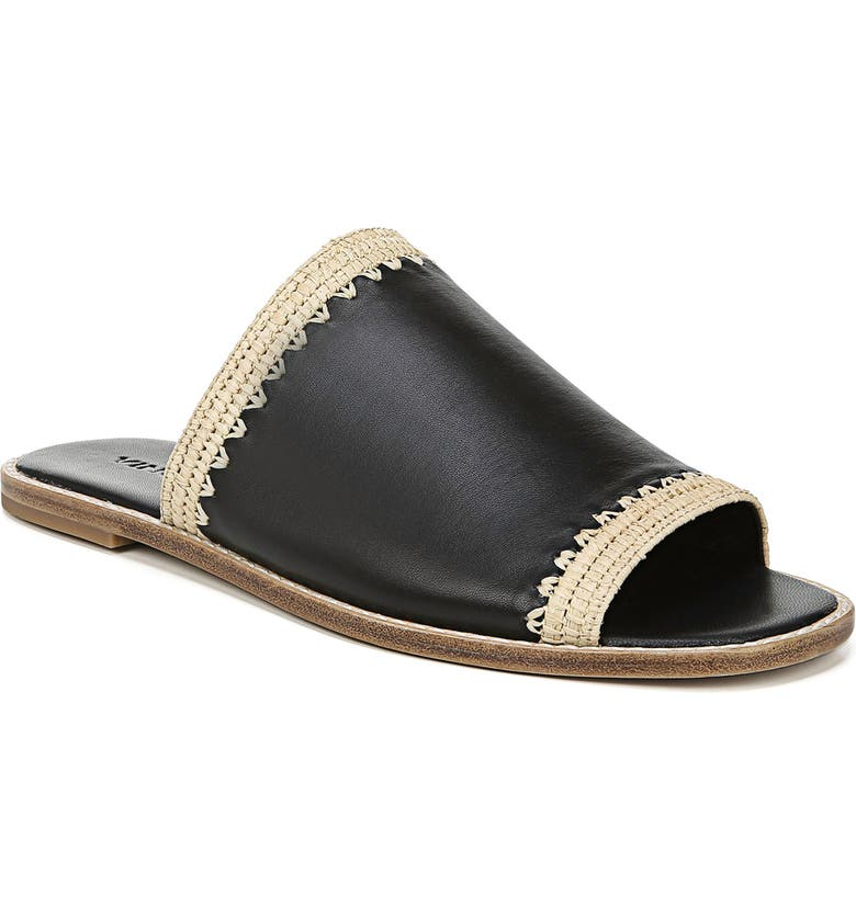 VINCE Padmore Slide Sandal, Main, color, BLACK