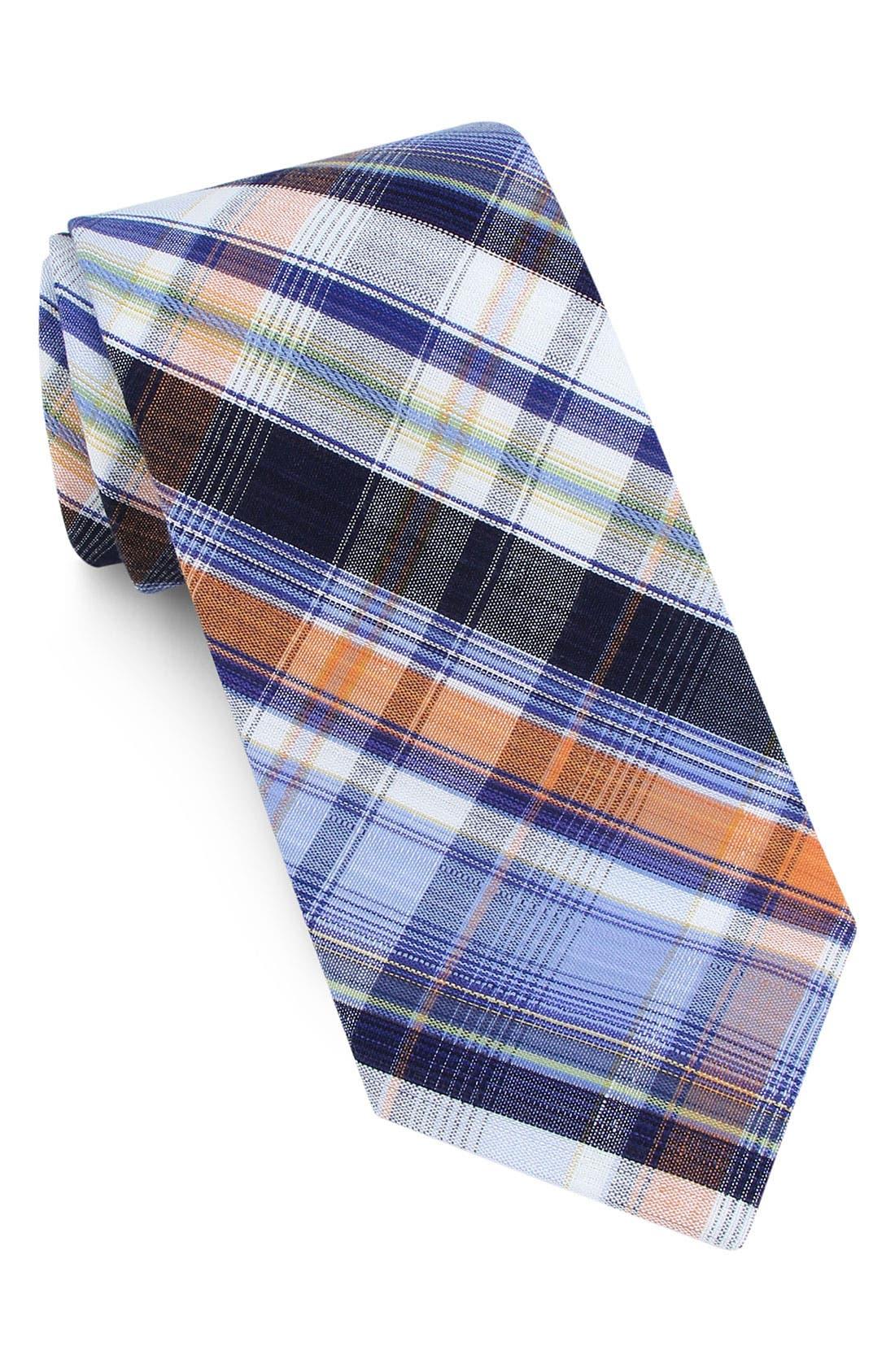 ,                             Woven Cotton Tie,                             Main thumbnail 5, color,                             800