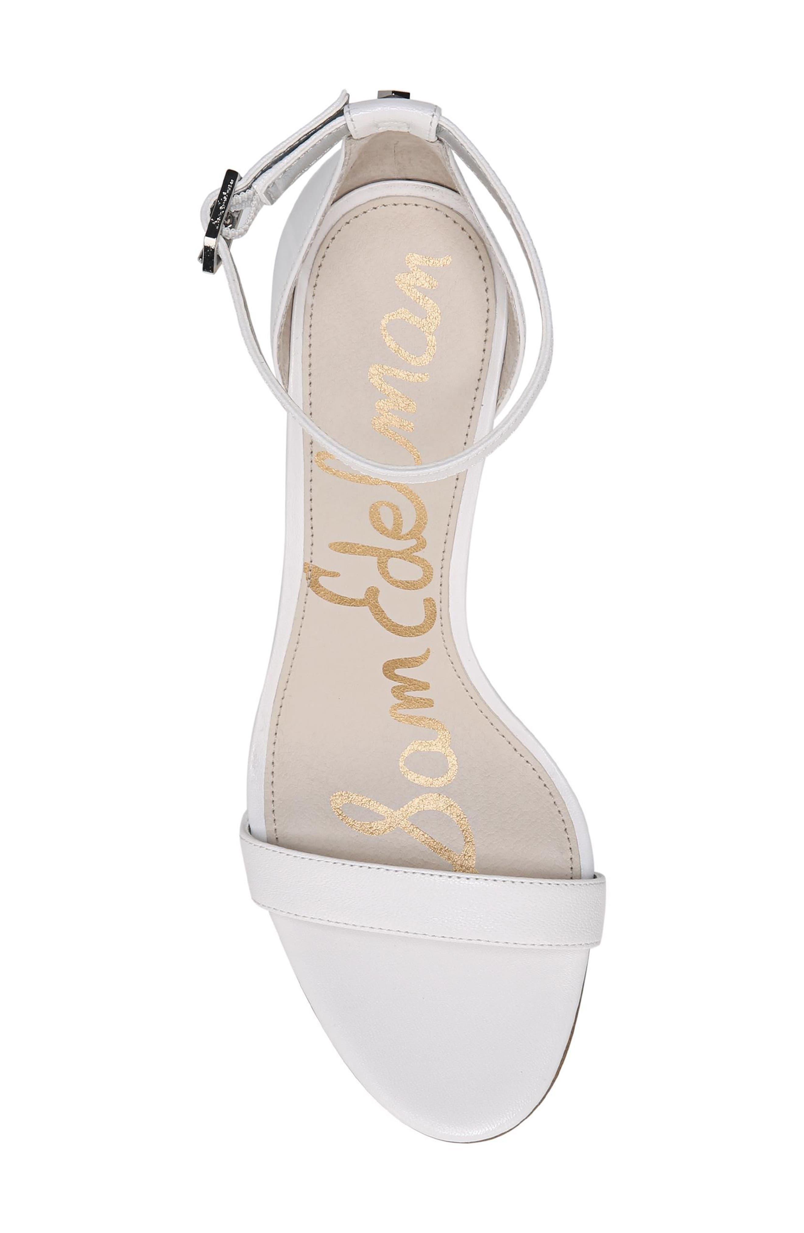 ,                             'Patti' Ankle Strap Sandal,                             Alternate thumbnail 60, color,                             101