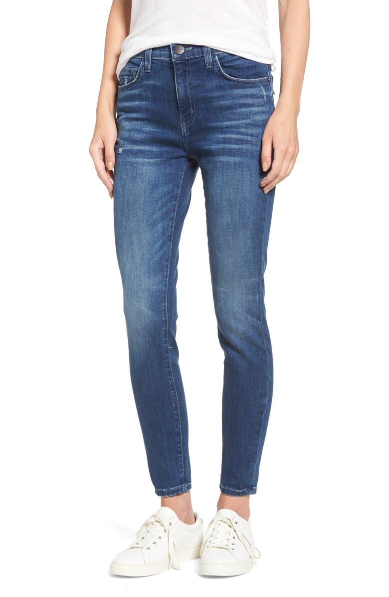 CURRENT/ELLIOTT The Stiletto High Waist Skinny Jeans, Main, color, 463