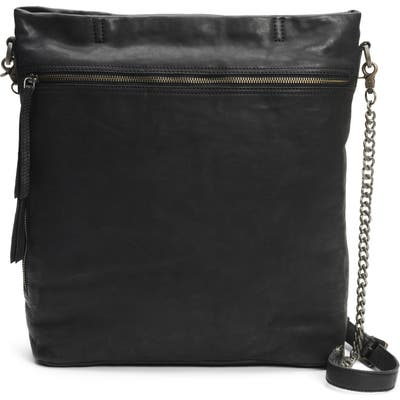 Frye And Co Riley Leather Crossbody Bag - Black