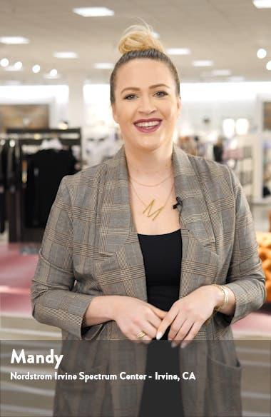 Leandrina Polo Collar Linen & Cotton Shift Dress, sales video thumbnail