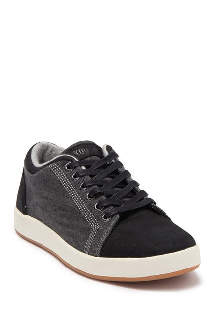 Image of Kodiak Avy Athletic Low Top Black Sneaker