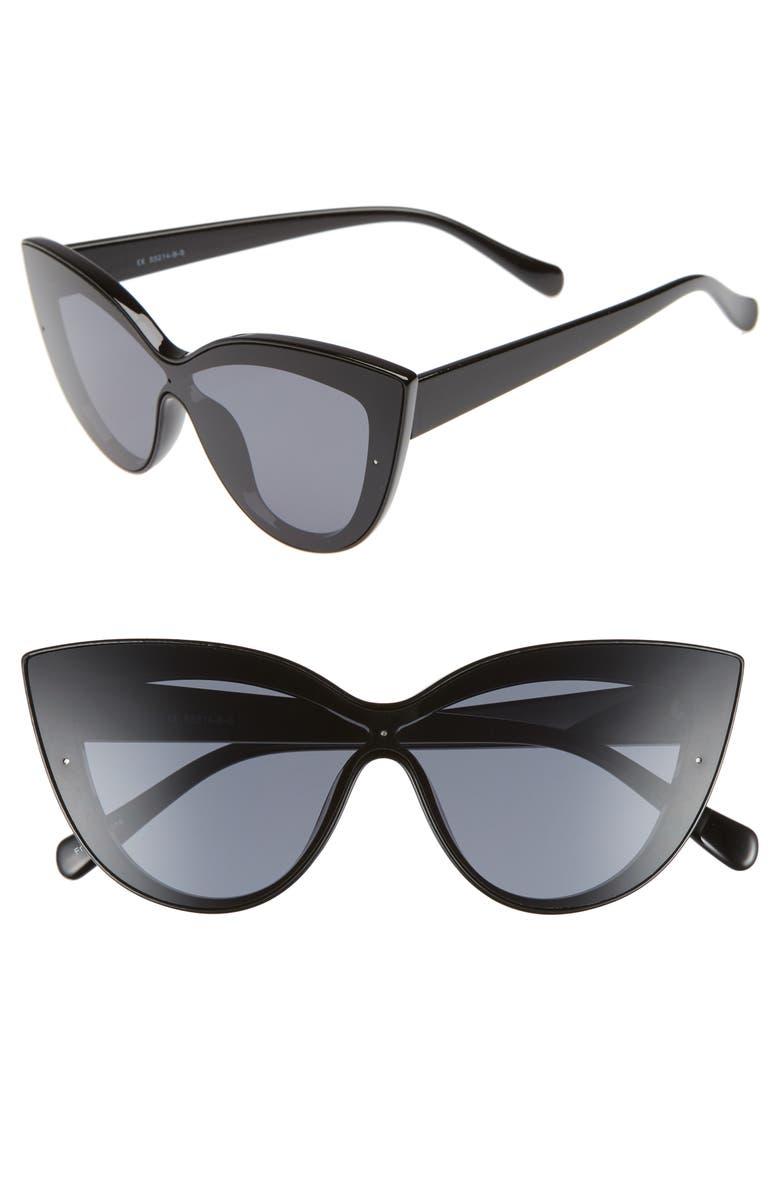 BP. Cateye Sunglasses, Main, color, 001