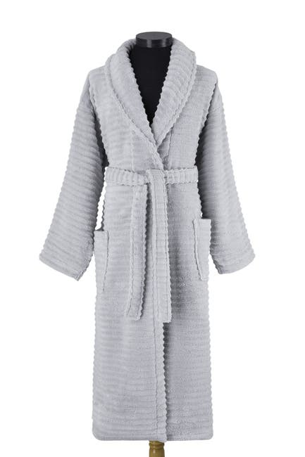 Image of Melange Home Zero Twist Ruffle Bath Robe