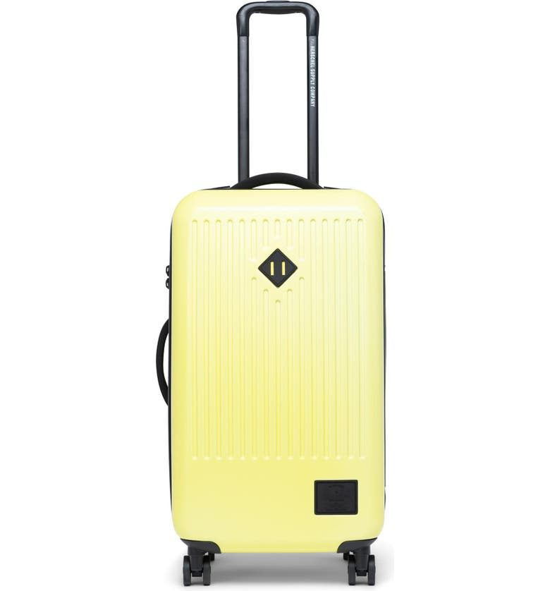 HERSCHEL SUPPLY CO. Trade 29-Inch Medium Wheeled Packing Case, Main, color, HIGHLIGHT