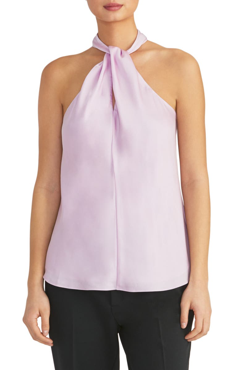 RACHEL ROY COLLECTION Twisted Halter Top, Main, color, 501