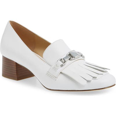 Michael Michael Kors Charlton Loafer, White
